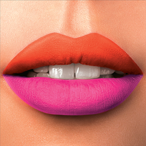 Wearing Two Shades of Lipstick; Is It the Cool New Way?